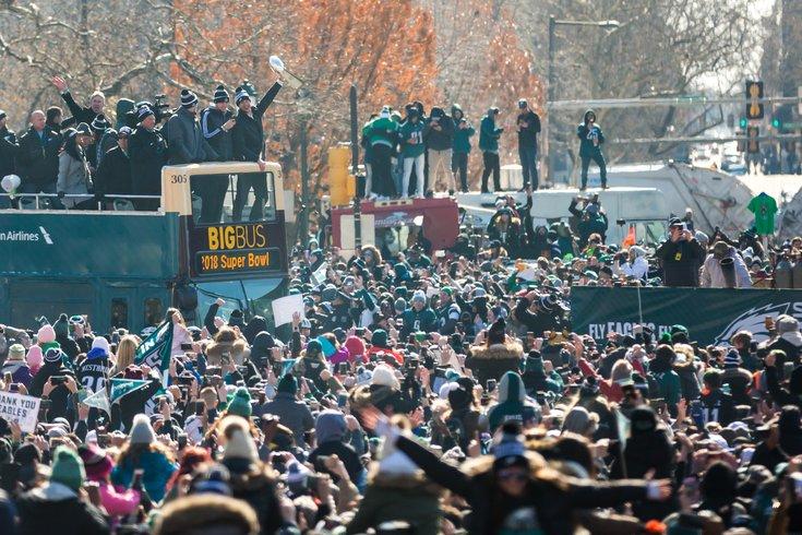Carroll - Eagles Parade