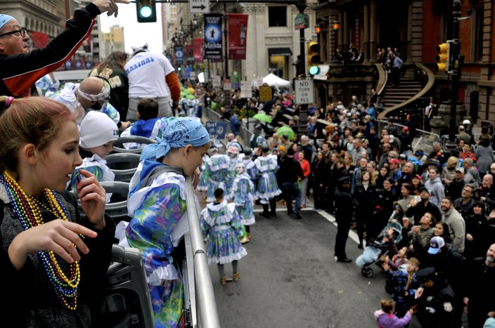 2019 Mummers Parade beads