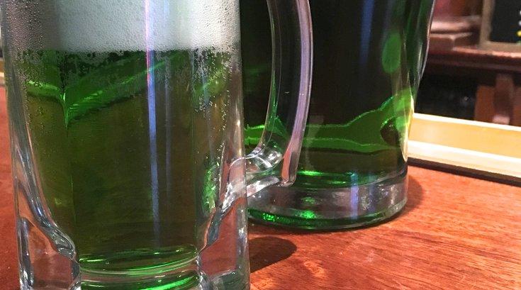 McGillin's green beer 2021