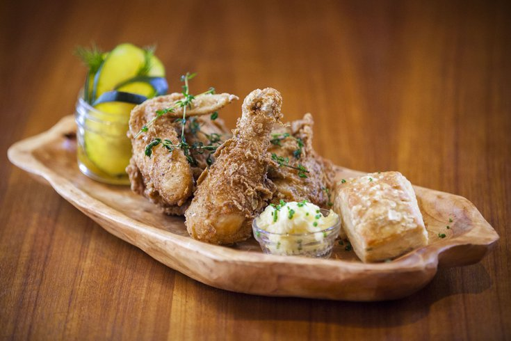 Bud & Marilyns fried chicken
