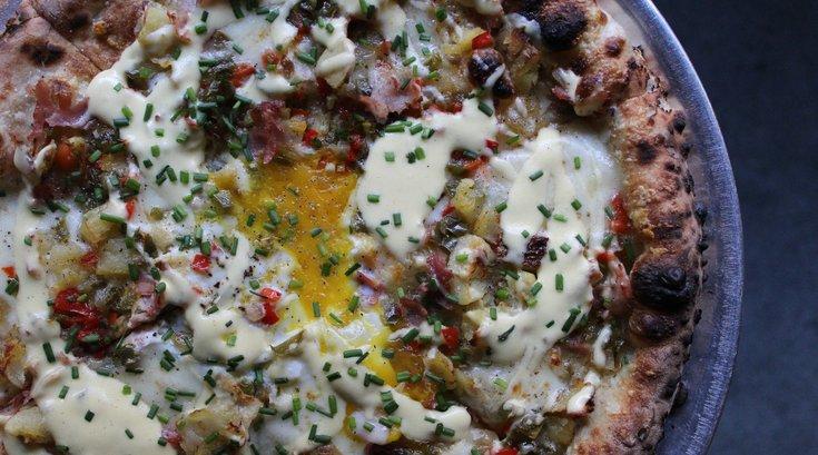 Hangover Pizza from Pizzeria Vetri