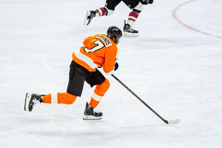 Carroll - Philadelphia Flyers Wayne Simmonds