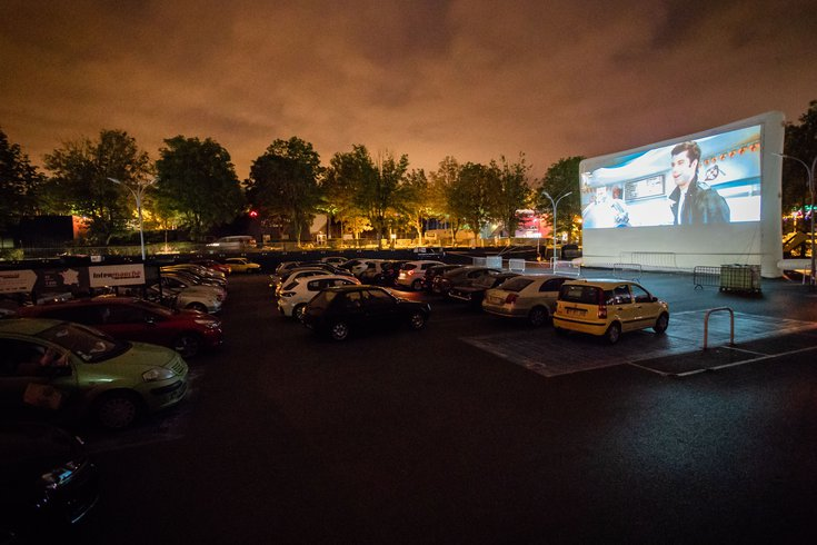 Drive-in theater Exton