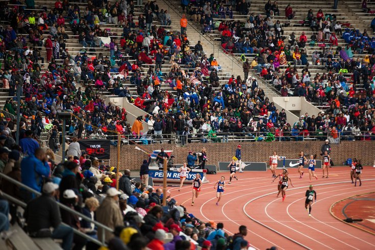 Penn Relays at Franklin Field