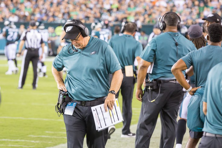 Carroll - Philadelphia Eagles Game Linebackers Coach Ken Flajole