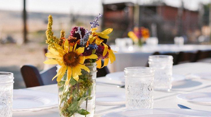 Attend a zero-waste dinner at Awbury Arboretum