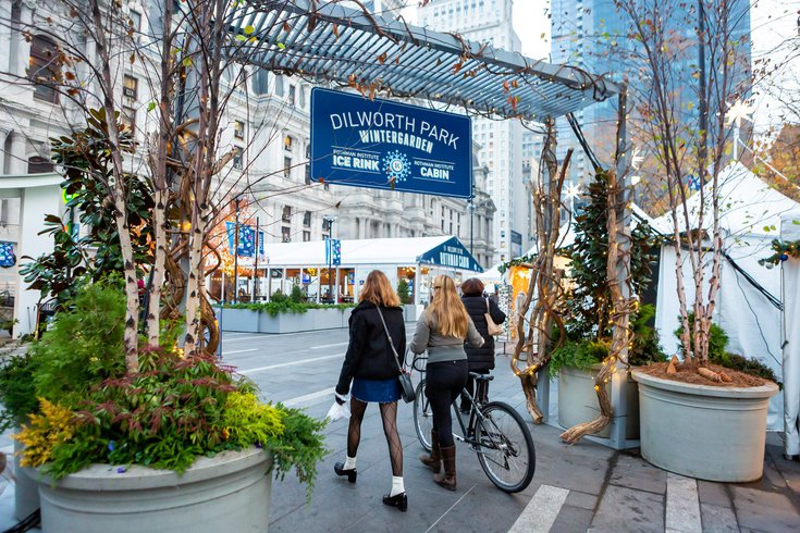Holiday attractions at Dilworth Park