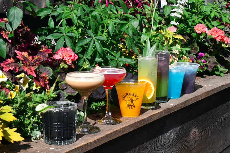 rainbow cocktails Pride Month