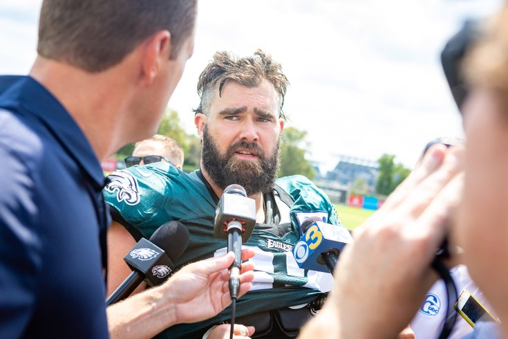 Natalie Egenolf: We are all the Eagles naked offensive line
