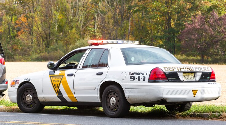 Stock_Carroll - Police Car Deptford New Jersey