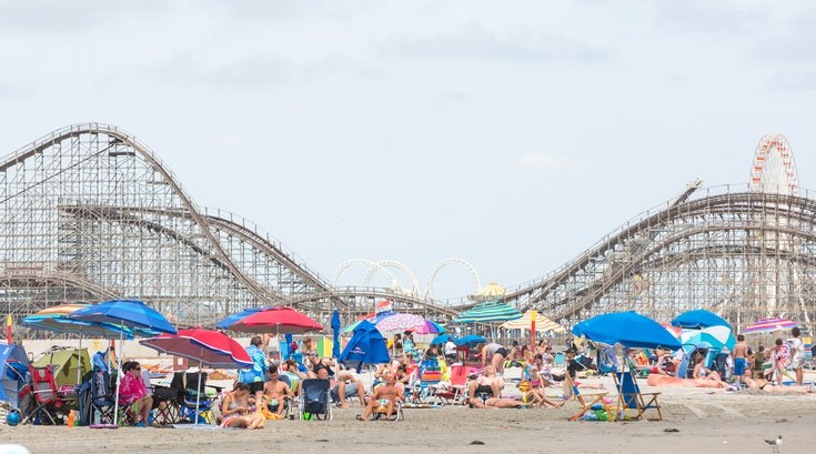 Carroll - Wildwood Beach and Rollercoaster
