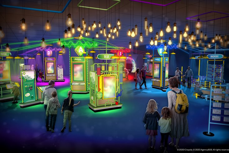 Crayola IDEAworks: The Creativity Exhibition