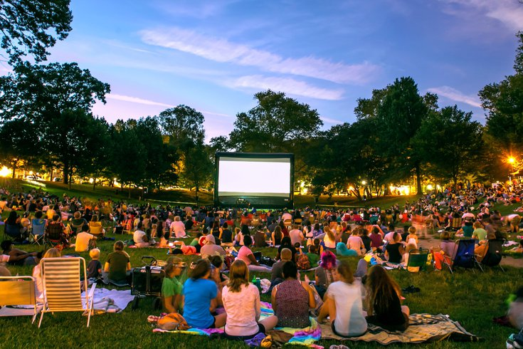 Movies Nights at Clark Park