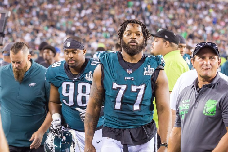 Carroll - Philadelphia Eagles Game Michael Bennett