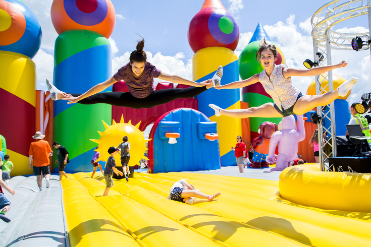 The Big Bounce America bringing World's Largest Bounce House to Philly