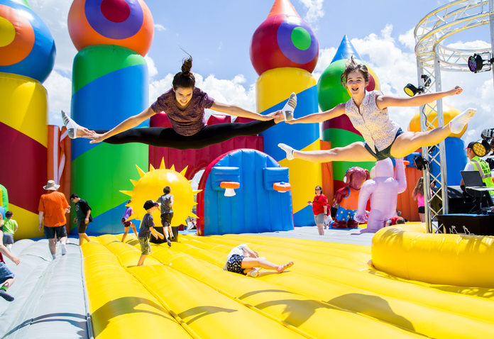 95ce3457c World s largest bouncy castle coming to Delaware County