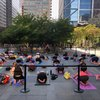 Take a free barre class at the Comcast Center in June and July