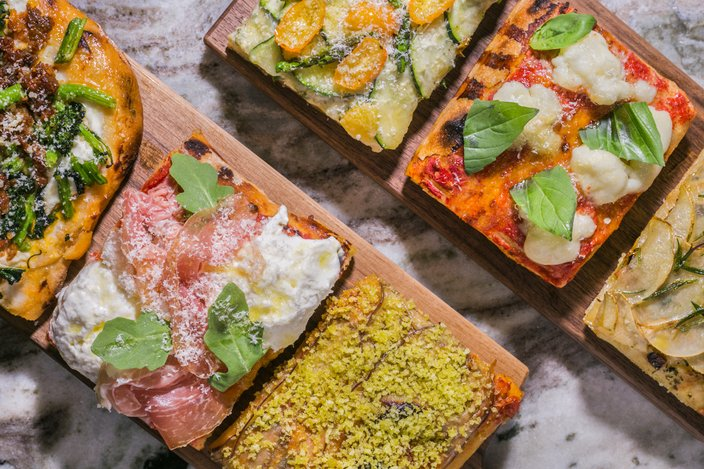 Alimentari is located on the second floor of Di Bruno Bros. in Rittenhouse