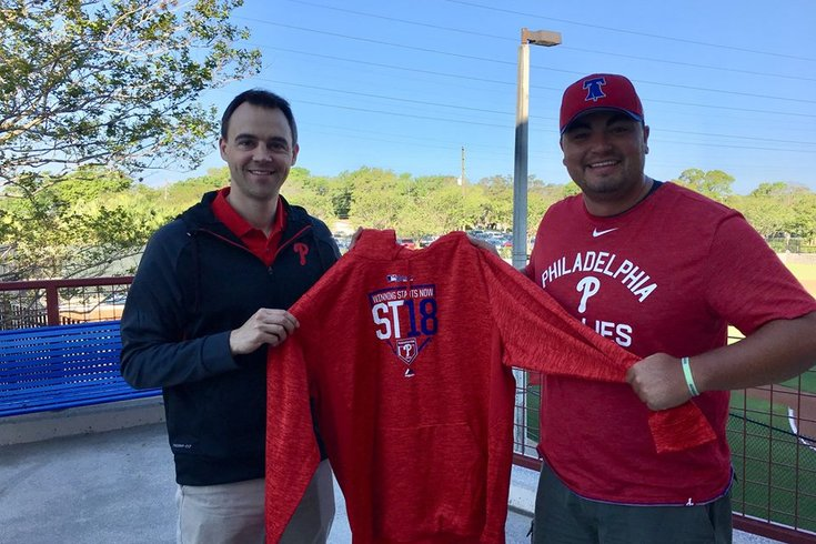 Matt Klentak Phillies Fan Hoodie