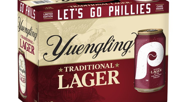 Yuengling Phillies lager