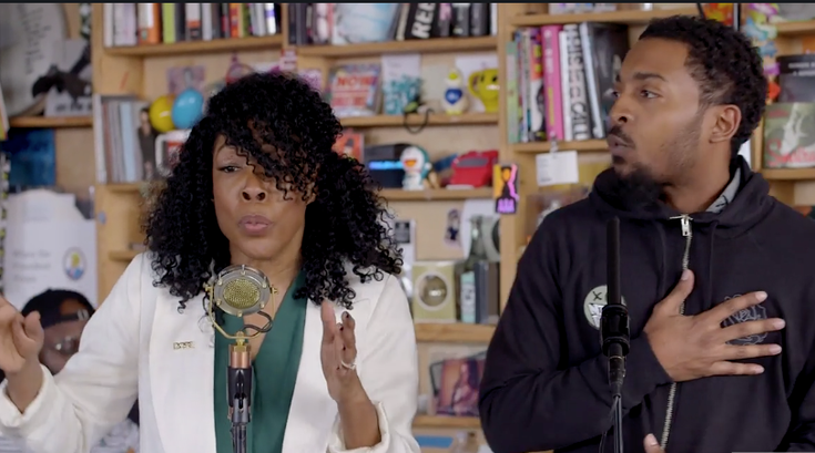 Philly hip-hop group &More performed on NPR's 'Tiny Desk'