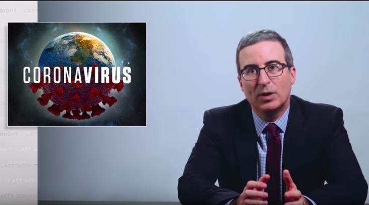 John Oliver President Trump Coronavirus