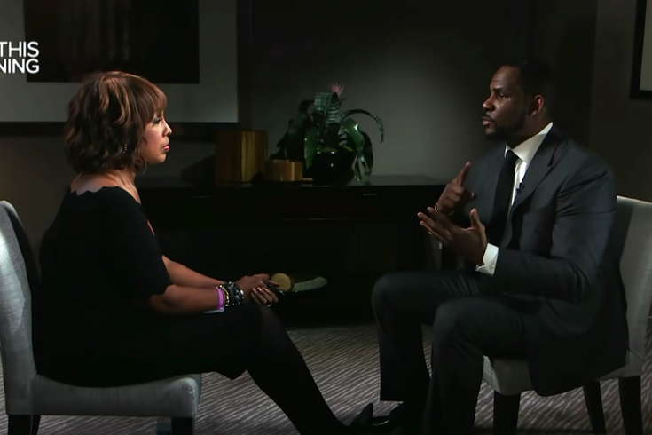 R. Kelly and Gayle King's interview