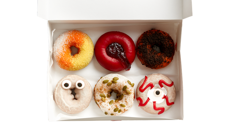 Federal Donuts Halloween flavors