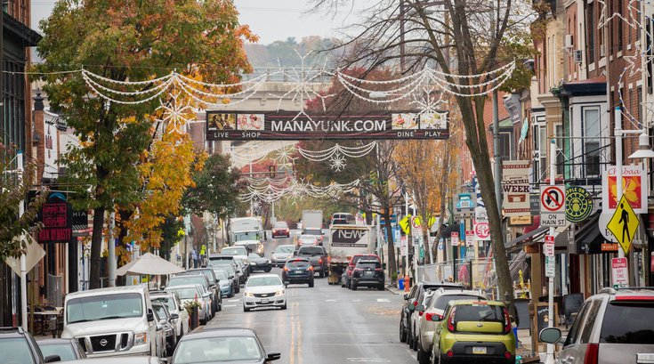 Holiday season in Manayunk