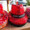 New Years celebratory hats 2018