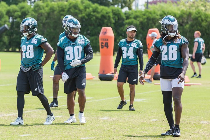 Carroll Eagles Stock Wendell Smallwood Corey Clement Donnel