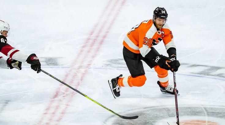 Carroll - Philadelphia Flyers Claude Giroux
