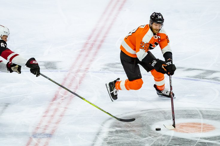 Carroll - Philadelphia Flyers Claude Giroux