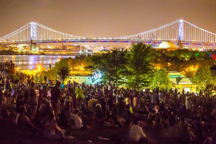 Carroll - XPoNential Music Festival Ben Franklin Bridge BB&T Pavilion