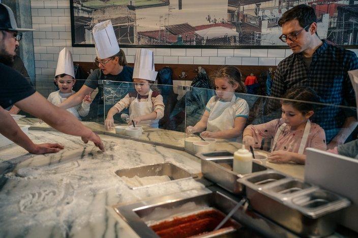 Little Chefs Pizza Class at Pizzeria Vetri