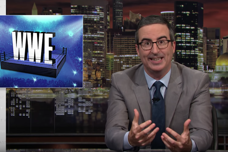 John Oliver takes on the WWE and owner Vince McMahon