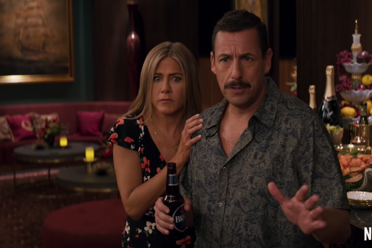 Netflix releases trailer for 'Murder Mystery' with Adam Sandler and