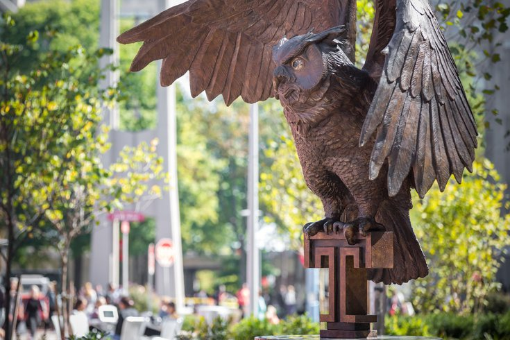 Temple University tuition freeze