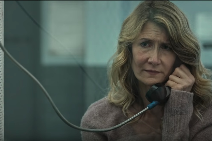 Laura Dern tries to prove the innocence of a convicted murderer in 'Trial By Fire'