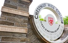 Chestnut Hill College Entrance