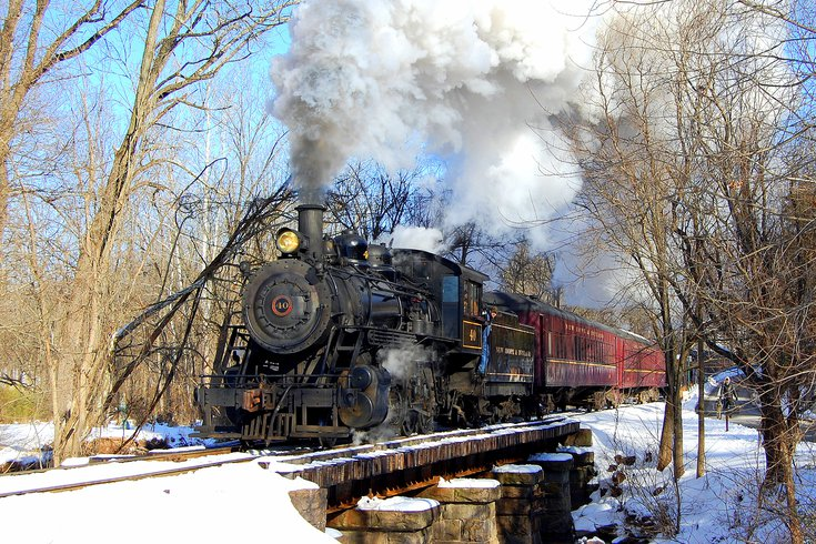 New Hope Railroad holiday train
