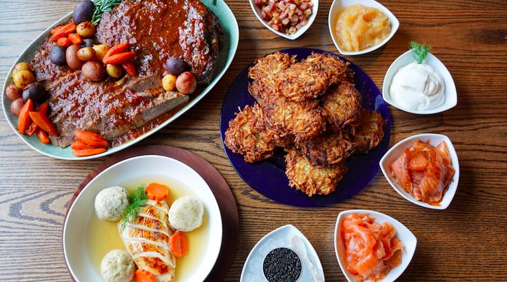 Hanukkah dinner Community