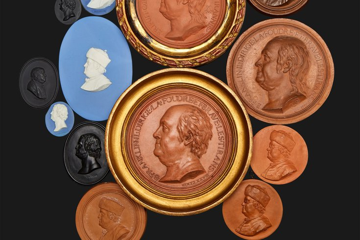 ben franklin medallion auction