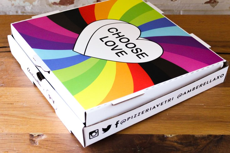 Pride pizza box