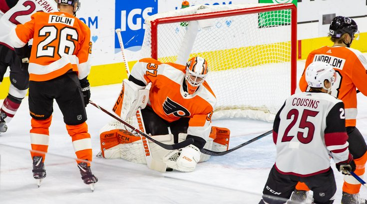 Carroll - Philadelphia Flyers Brian Elliott