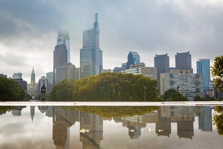 Carroll - Philadelphia Skyline reflection