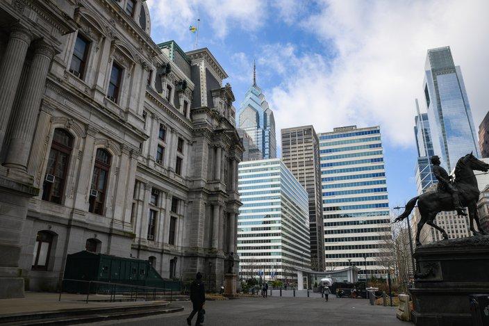coronavirus city hall philadelphia