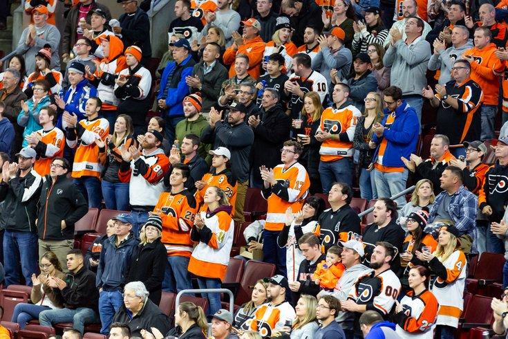 Carroll - Philadelphia Flyers Fans