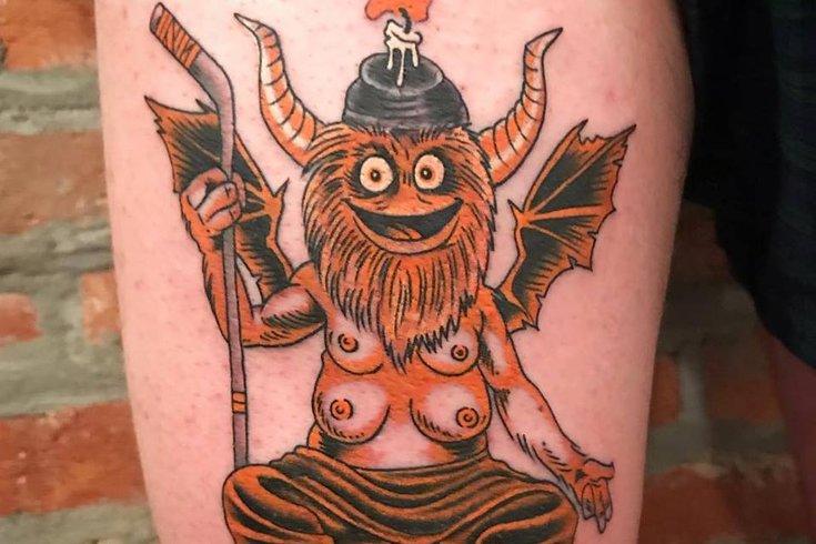 Gritty tattoo
