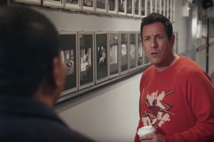 Adam Sandler gets spooked in 'SNL' promo trailer